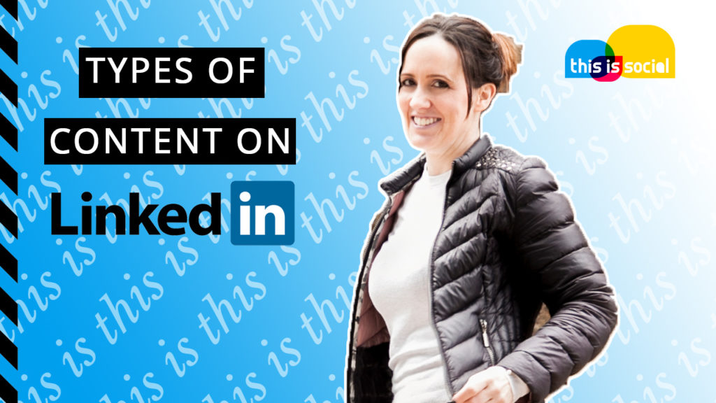 Types of Content to post on LinkedIn.